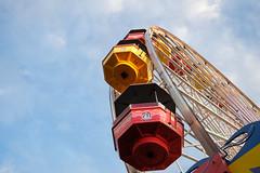 (kecotting) Tags: bluesky beach ferriswheel pier amusements rides santamonica california colorful fujifilm xt2