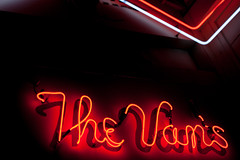 The Vans (Jeremy Brooks) Tags: belmont california neon restaurant sanmateocounty usa ca unitedstates