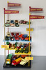 1950s Dinky Toys Display With Toys (buzzer999) Tags: dinkytoys meccano diecast models cars trucks buses ambulance tanker landrover shopdisplay advertising 1950s liverpool childhood hornby binnsroad pastimes play children