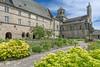 Abbey de Aubazine, Correze (surreydock) Tags: abbey romanesqe correze church medieval garden sigma 816 zoom ultrawideangle nikon d7100 lightroom