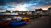 At Low Tide (Quicksil7er) Tags: lonely island sunset color sky boats street empty space quicksil7er d700 cz 35mm