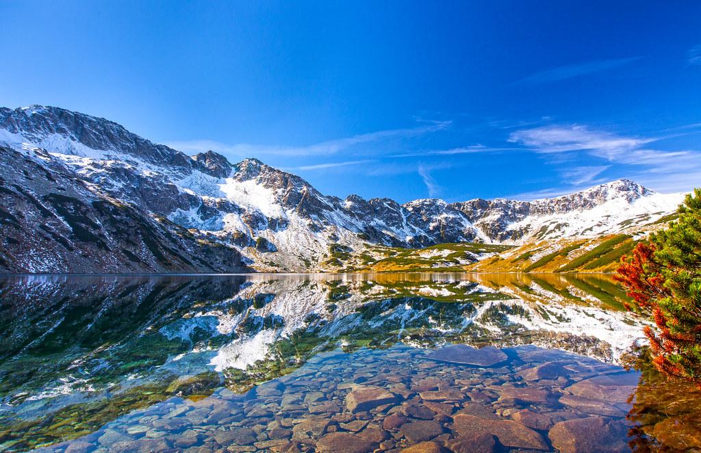 Valley of Five Lakes. Tatra National Park. Poland