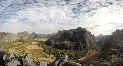 Green Climbers Home @ Thakhek, Laos (Sitoo) Tags: greenclimbershome gch camp climging climb multipitch chinesenewyear 6b travel sports panorama landscape laos asia southeastasia mountains mountainrange mountainpeak mountaineering adventure gopro