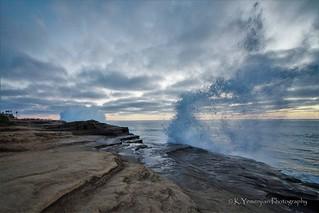 Ocean Wave Splash