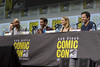 Will Smith, Edgar Ramirez, Lucy Fry and Eric Newman (TheGeekLens) Tags: sdcc sandiegocomiccon sandiego california con convention comiccon comicconinternational netflix bright panel celebrity event cci willsmith edgarramirez lucyfry ericnewman