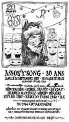 Affiche_20ans_AYS_web (mc1984) Tags: mc1984 ays chien saucisses music concert