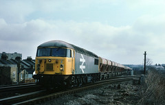 Another image from my once only visit to this location on a very cold February day...when we used to have such things....6V98 56056 Hotthfield-Whately Latchmere Jnc 16-02-1987 (the.chair) Tags: 6v98 56056 hothfieldwhateley via acton yd latchmere jnc feb 1987