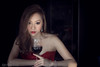 wine。red (Francis.Ho) Tags: red amy wine baltar fujifilm xt2 girl woman female femme lady portrait people beauty pretty lips eyes hair face chinese model elegant glamour young sensuality fashion naturallight cute goddess erotic lowkey sexy