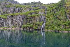 Trollfjorden, Vesterålen, Norway (Ingunn Eriksen) Tags: trollfjorden vesterålen nordland norge norskekysten fjord fiord nikond750 nikon mountains waterfall