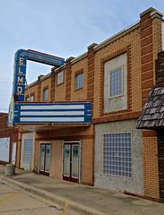 Elmo Theatre, St. Elmo, IL (Robby Virus) Tags: stelmo illinois il elmo theatre theater cinema movies movie house facade neon marquee sign signage closed renovation