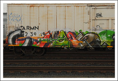 Chaos (All Seeing) Tags: msk awr armn unionpacific reefer nekst rip