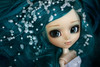 Go away, cold spirit! (Virvatulia) Tags: pullip classical alice pullipalice rewigged green blue wig white wedding accessory pearls dress look gaze groove doll portrait toy teal