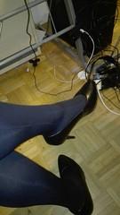 IMG-20170826-WA0010 (wuder1) Tags: crossdresser bondage nylon pantyhose strumpfhose heels devot tranny sissy tights collants tied up
