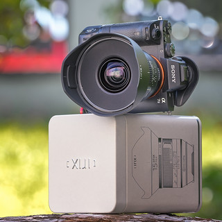 SONY a7II with IrIX Firefly 15mm ƒ/2.4 rectalinear ultra wide angle lens on Techart Pro EOS-NEX III