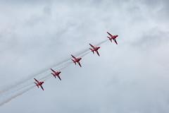 RAF Red Arrows Display Team (myfrozenlife) Tags: air raffairford jets aircraft england flight uk riat aeroplane raf fairford airshow fly planes royalinternationalairtattoo riat2017 cotswolddistrict unitedkingdom gb
