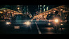 Shijo Dori, Kyoto, Japan [Explored] (emrecift) Tags: cityscape road lights motorcycle bike night teal orange street photography kyoto japan cinematic 2391 anamorphic cinemorph filter oval bokeh blue streak sony a7 alpha legacy lens glass canon new fd 50mm f14 emrecift