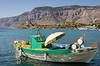 Panormitis Fishing Boat (Stephen Reed) Tags: symi island europe lightroomcc d7000 nikon vacation aegeansea
