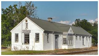Goshen  Train Station