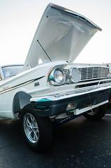 Straight-axle Fairlane (GmanViz) Tags: gmanviz color car automobile detail goodguysppgnationals nikon d7000 1964 ford fairlane gasser fender hood grille bumper wheel tire axle