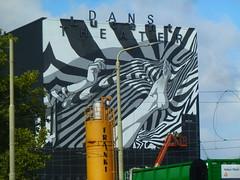 """""""Haagse Iconen""""1 (JoséDay) Tags: bierbrood bierenbrood lucentdanstheater muurschildering streetart graffiti denhaag thehague spuiplein spuidenhaag mural cultuurdenhaag"""