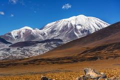 Volcán Incahuasi (Luis_Garriga) Tags: nevado sanfrancisco paso catamarca argentina 6000 seismiles volcán montaña cordillera andes pastos verano nieve cielo