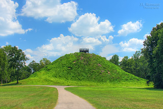 Saul's Mound - Pinson Mounds State Archaeological Area - Pinson, Tennessee