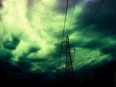 True light (Join me on Facebook!) Tags: sky lines pylon highvoltage nuages clouds storm cloudy nuageux tempête lightsandshadows lumières ombres darkness obscurité digital digitalart imaginary imaginaire dreamlike surreal surrealism onirism hss