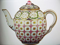 Sèvres Teapot (pefkosmad) Tags: jigsaw puzzle hobby leisure pastime 650pieces shaped teapot sèvresteapot secondhand used complete