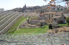 Upaix, vu du pied de la colline (RarOiseau) Tags: hautesalpes upaix campagne verger village villageperché paca v2000 arboriculture