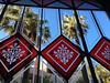Les Corts, Centre Civic (efe Marimon) Tags: appleiphone6s felixmarimon lescorts palmeras cristaleras centrecivic