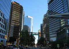 Vancouver, Canada Place (Stuart Axe) Tags: vancouver britishcolumbia canada skyscrapers skyscraper canadaplace street road urban building