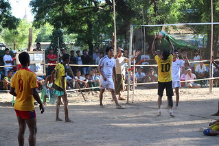 Volleyball - Old Bagan (Myanmar)