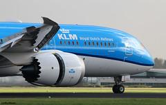 KLM Royal Dutch Airlines 787-9 PH-BHH / AMS (RuWe71) Tags: klmroyaldutchairlines klklm klm airfranceklm koninklijkeluchtvaartmaatschappij theflyingdutchman holland netherlands nederland amsterdam boeing boeing787 b787 b7879 b789 dreamliner boeing7879 boeing7879dreamliner phbhh cn38766449 n1005s hh007 jasmijn jasmine amsterdamairport amsterdamschiphol amsterdamschipholairport schiphol schipholamsterdam ams eham polderbaan planes airport aviation spotter vliegtuig luchthaven engines runway airliner avions aéroport aéronefs spotting sunshine aeroplane jetliner flugzeug flughafen planespotting flaps slats spoilers widebody aeropuerto aviónes planespotter heavy reflections avgeek ruwe71 aviationphotography generalelectric canon canonphotography