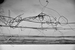 Misa Ato Photography - Fil de fer - Iron wire (misaato) Tags: dessin noiretblanc blackandwhite monochrome fil de fer iron wire linescurves lignes courbes drawing bw nb blackartwhite nikonflickraward misaatophotography hiveminer flickr flickrose photo best world photographie