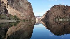 Glass (octi_x) Tags: iphone nature outdoorsports lasvegas rivers outdoor kayaking nevada