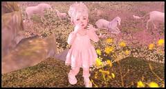 Pure Magic (delisadventures) Tags: secondlife secondlifefashion secondlifefashionblog second seconlifefashion secondlifeblog fashion fashino fashin fashionblog fashions fas slfashionblog slfashion slfashionblogger fasf slfashin slfashino slfashions urbanfashion babyfashion toddleedoofashion nimble colormecute ninetynine adorable baby dress floral pink pure whole wheat