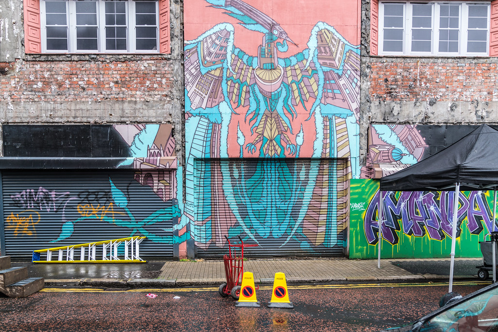 EXAMPLES OF URBAN CULTURE IN BELFAST [STREET ART AND GRAFFITI]-132922