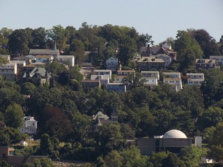 Yonkers cityscape