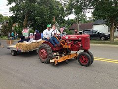 """John Schiel and His Antique   Tractor • <a style=""""font-size:0.8em;"""" href=""""http://www.flickr.com/photos/94341077@N03/36774864743/"""" target=""""_blank"""">View on Flickr</a>"""