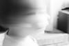 negation (Liza Williams) Tags: motion blurred blurry blur nope nonono toddler child blackandwhite noiretblanc