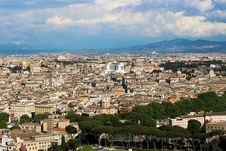 Rome From St. Peters Cupola