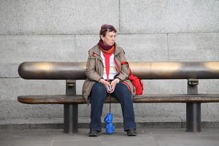 Trafalgar Square people