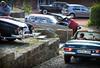 Benzes everywhere (Martin van Duijn) Tags: mercedes benz 280sl 220s 250se badbentheim heckflosse fintail