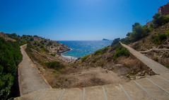 Benidorm. (CWhatPhotos) Tags: cwhatphotos benidorm spain beach sea path blue olympus four thirds 43 omd em10 ii digital camera photographs photograph pics pictures pic picture image images foto fotos photography artistic that have which with contain artistc seaside resort costa blanca spanish fun hol holiday september 2017