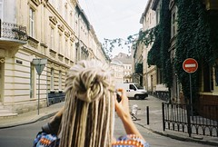 replicant (_replicant) Tags: photoshooting street city lviv photo photography people dreads filmcamera 35mm