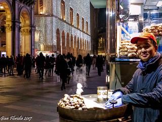 Il caldarrostaio di Piazza Duomo... (Explored Sept. 12, 2017 #109)