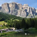 Sur la route du col Sella, Canazei, Val di Fassa, province de Trente, Trentin-Haut Adige, Italie. thumbnail