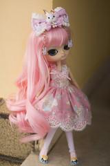 Candy Candy (Bianca Hopkins) Tags: miyuki dal sakura rewigged rechipped obitsu 25cm m doll fashion