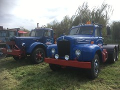 1953 MACK 951UYK and MACK  ?  . Statfold Barn Railway nr Tamworth 9-9-17 (busmothy) Tags: 951uyk mack statfold