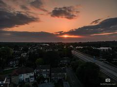 Sunset-1 (jksphoto1) Tags: england unitedkingdom gb spark drone dji djispark aerial trainline